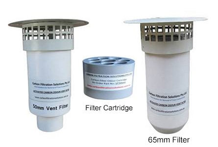 Odour Charcoal Vent Filter Carbon Air Vent Filters In